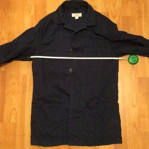 J crew chore jacket xs navy